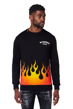 MB FIRE SWEATER