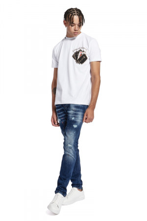 POKERCARDS CHEST T-SHIRT
