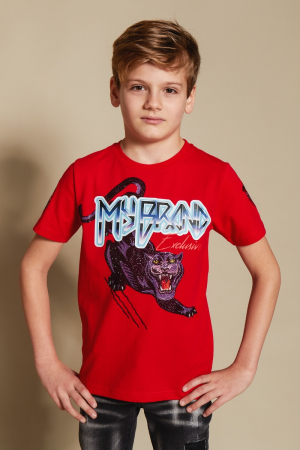 GRAPHIC PANTHER T-SHIRT
