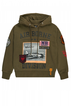 AREA 51 ARMY PLANE HOODIE