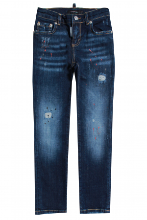 PIETRO 028 RED SPOTTED JEANS
