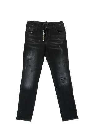 WASHED B03 LONG JEANS