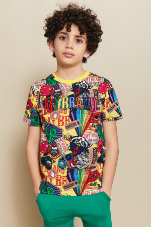 CARNIVAL ALL OVER PRINT T