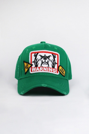 WARNING CAP 43 PEPPER GREEN ONE SIZE