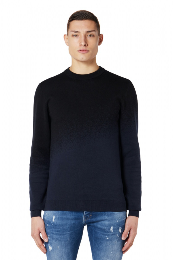 M GRADIENT SPRAY SWEATER